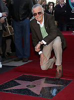 1/4/2011 Stan Lee at his Hollywood Walk of Fame ceremony