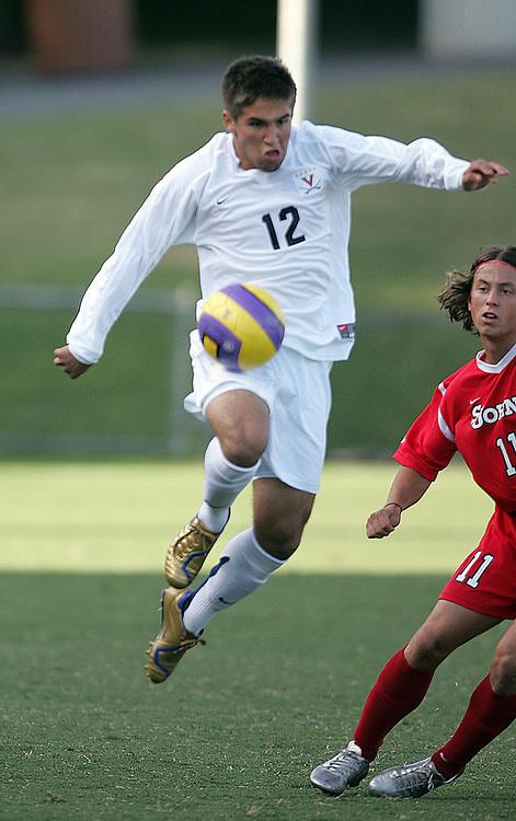 Virginia Cavalier men's and women's soccer at the University of Virginia in Charlottesville, VA. Photo/Andrew Shurtleff.