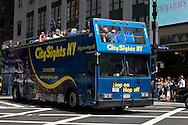 UNITED STATES-NEW YORK-Tourist Bus. PHOTO: GERRIT DE HEUS.VERENIGDE STATEN-NEW YORK. Toeristenbus. PHOTO GERRIT DE HEUS