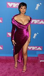 August 20, 2018 - New York City, New York, U.S. - Hip hop artist  CARDI B attends the arrivals for the 2018 MTV 'VMAS' held at Radio City Music Hall. (Credit Image: © Nancy Kaszerman via ZUMA Wire)