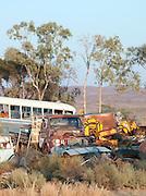 Junkyard in the Flinders Ranges, South Australia, Australia