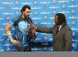 Bulls player Victor Matfield.19 February 2011, Gauteng Lions v Blue Bulls, Vodacom Super 15, CocaCola Park, Johannesburg, South Africa,.photo by Abbey Sebetha, Eagency