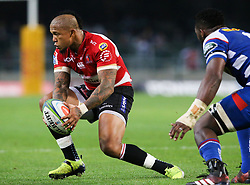 Elton Jantjies of the Emirates Lions during the first half of the Vodacom Super Rugby match between the DHL Stormers and the Emirates Lions at DHL Newlands in Cape Town, South Africa, Saturday May 26 2018. <br /> (Roger Sedres/ANA)