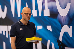 06-04-2019 NED: Swim Cup, Den Haag<br /> Andre Cats, Technisch Directeur KNZB