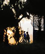 Local women walking in Jinka, South West Ethiopia