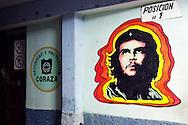 Image of Ernesto Che Guevara in Gibara, Holguin, Cuba.