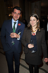 LORD & LADY REGINALD VANE-TEMPEST-STEWART at a party to celebrate the publiction of 'No Invitation Required' by Annabel Goldsmith, held at Claridge's, Brook Street, London on 11th November 2009.