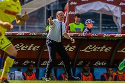 April 8, 2018 - Naples, Italy - Rolando Maran (Chievo Verona)..during the Italian Serie A football SSC Napoli v Chievo Verona at S. Paolo Stadium..in Naples on April 08, 2018  (Credit Image: © Paolo Manzo/NurPhoto via ZUMA Press)