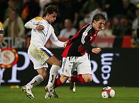 v.l. Georgios Theodotou, Bastian Schweinsteiger Deutschland<br /> EM-Qualifikation Zypern - Deutschland<br /> Cyprus - Germany <br /> Kypros - Tyskland<br /> Norway only