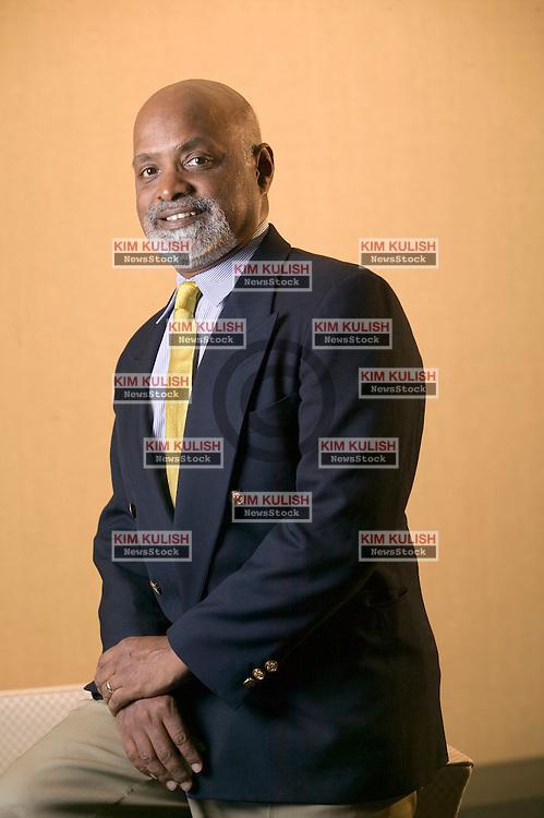 Dr. Raj Nathan, Senior Vice President, Information Technology Solutions Group, Sybase, Inc..Photo by Kim Kulish