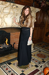 LADY ROSE INNES-KER daughter of the 10th Duke of Roxburghe at a recital and dinner to celebrate the 10th anniversary of The Galitzine Library held at 2 Temple Place, London WC2 on 16th November 2004.<br />