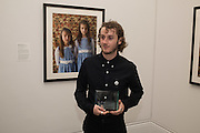Kovi Konowiecki, Private view of the Taylor Wessing Portrait prize, National Portrait Gallery, London.  15 November 2016