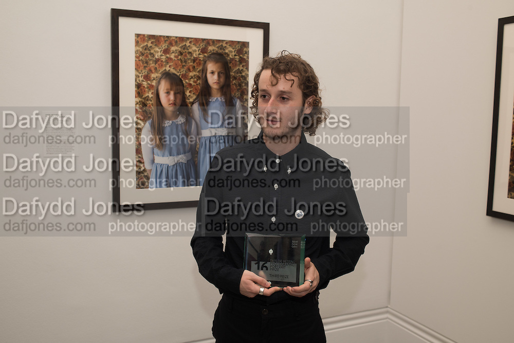 Kovi Konowiecki, Private view of the Taylor Wessing Portrait prize, National Portrait Gallery, London.  15 November 2016