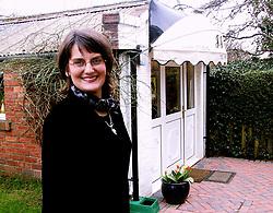 Jean Jones Hairdresser outside her Hair salon JJ on west street Hoyland