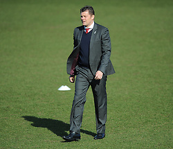 Bristol City manager, Steve Cotterill walks onto the pitch prior to kick off against Crawley Town - Photo mandatory by-line: Dougie Allward/JMP - Mobile: 07966 386802 - 07/03/2015 - SPORT - Football - Crawley - Broadfield Stadium - Crawley Town v Bristol City - Sky Bet League One