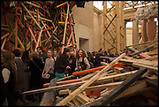Tate Britain Commission 2014: Phyllida Barlow, Tate Britain. Millbank. London. 31 March 2014.