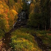 I traveled up way north to New Hampshire to Colebrook and North Country to look for the beginning of fall foliage and moose. No luck with moose but I found some early vibrant autumn colors at Beaver Brook Falls. This waterfall is right off the street with easy access and makes for a great nature experience. Loved photographing this waterfall because it was somewhat remote and the early morning sun beautifully painted the trees and canopies framing the falls.     <br /> <br /> Northern New Hampshire Beaver Brook Falls waterfall photography images are available as museum quality photography prints, canvas prints, acrylic prints or metal prints. Prints may be framed and matted to the individual liking and decorating needs at:<br /> <br /> https://juergen-roth.pixels.com/featured/beaver-brook-falls-juergen-roth.html<br /> <br /> All high resolution New England photography images from around all six states are available for photo image licensing at www.RothGalleries.com. Please contact me direct with any questions or request. <br /> <br /> Good light and happy photo making!<br /> <br /> My best,<br /> <br /> Juergen<br /> Prints: http://www.rothgalleries.com<br /> Photo Blog: http://whereintheworldisjuergen.blogspot.com<br /> Instagram: https://www.instagram.com/rothgalleries<br /> Twitter: https://twitter.com/naturefineart<br /> Facebook: https://www.facebook.com/naturefineart