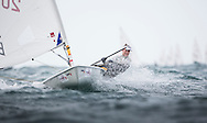 The 2015 Laser Women's Radial World Championship. Mussanah. Oman. November 18-26 November. Day 4 of racing - Image licensed to Lloyd Images