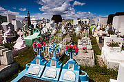 Catholic cemetery, Puerto Natales, Patagonia, Chile.