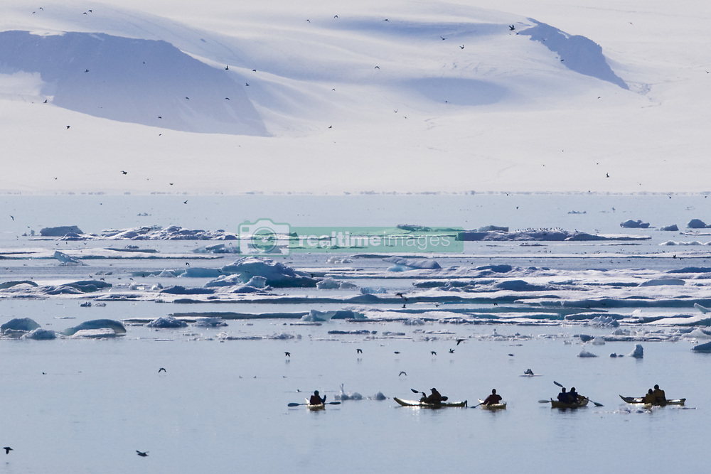 July 21, 2019 - Kayakers, Nunavut, Canada (Credit Image: © Richard Wear/Design Pics via ZUMA Wire)