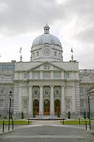 Irish government buildings; Leinster House; Dublin; Ireland
