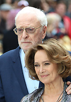 Michael Caine, Francesca Annis, King of Thieves - World Premiere, Leicester Square, London, UK, 12 September 2018, Photo by Richard Goldschmidt
