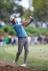March 16, 2019 - Ponte Vedra Beach, FL, U.S. - PONTE VEDRA BEACH, FL - MARCH 16: Brandt Snedeker of the United States plays a shot on the 18th hole during the third round of THE PLAYERS Championship on March 16, 2019 on the Stadium Course at TPC Sawgrass in Ponte Vedra Beach, Fl. (Photo by David Rosenblum/Icon Sportswire) (Credit Image: © David Rosenblum/Icon SMI via ZUMA Press)