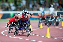 MCFADDEN Tatyana, USA, 1500m, T54, 2013 IPC Athletics World Championships, Lyon, France