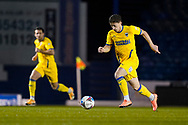 Alex Woodyard of AFC Wimbledon in action during the EFL Sky Bet League 1 match between Portsmouth and AFC Wimbledon at Fratton Park, Portsmouth, England on 19 January 2021.