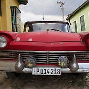 A vintage car on the streets of Trinidad, Cuba.