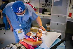 ORBIS Flying Eye Hospital, Kolkata, India.