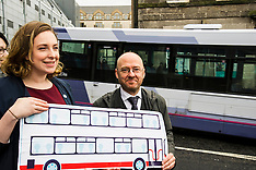 Patrick Harvie Better Bus campaign, Edinburgh 5 April 2016