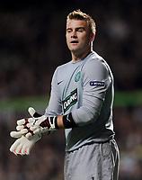 Fotball<br /> Tyskland<br /> Foto: Witters/Digitalsport<br /> NORWAY ONLY<br /> <br /> 22.10.2009<br /> <br /> Torwart Artur Boruc Celtic<br /> Europa League Celtic Glasgow - Hamburger SV 0:1