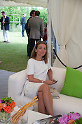 CLARE REID, The Dalwhinnie Crook  charity Polo match  at Longdole  Polo Club, Birdlip  hosted by the Halcyon Gallery. . 12 June 2010. -DO NOT ARCHIVE-© Copyright Photograph by Dafydd Jones. 248 Clapham Rd. London SW9 0PZ. Tel 0207 820 0771. www.dafjones.com.