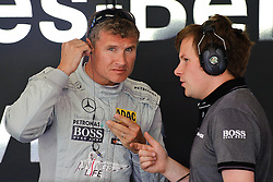 02.06.2011, Red Bull Ring, Spielberg, AUT, DTM Red Bull Ring, im Bild David Coulthard, (GBR, Deutsche Post AMG Mercedes) // during the DTM training day on the Red Bull Circuit in Spielberg, 2011/06/02, EXPA Pictures © 2011, PhotoCredit: EXPA/ S. Zangrando