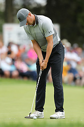 May 30, 2019 - Dublin, OH, U.S. - DUBLIN, OH - MAY 30: Jordan Spieth putts the ball during the first round of The Memorial Tournament on May 30th 2019  at Muirfield Village Golf Club in Dublin, OH. (Photo by Ian Johnson/Icon Sportswire) (Credit Image: © Ian Johnson/Icon SMI via ZUMA Press)