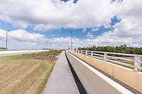 Architeture Photo of New Tampa Boulevard  Bridge in Tampa Florida by Jeffrey Sauers of Commercial Photographics, Architectural Photo Artistry in Washington DC, Virginia to Florida and PA to New England