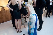 JENNY FALCONER; ALFIE, Dogs Trust Honours 2009, A celebration of man's best friend. The Hurlingham Club, Ranelagh Gardens, London, SW6. 19 May 2009.