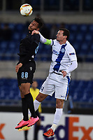 Ricardo Kishna Lazio, Artem Fedetskiy Dniepr <br /> Roma 26-11-2015 Stadio Olimpico Football Calcio 2015/2016 Europa League Lazio - Dnipro Foto Andrea Staccioli / Insidefoto