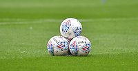 A general view of footballs in The DW Stadium, home of Wigan Athletic<br /> <br /> Photographer Dave Howarth/CameraSport<br /> <br /> The EFL Sky Bet Championship - Wigan Athletic v Fulham - Wednesday July 22nd 2020 - DW Stadium - Wigan<br /> <br /> World Copyright © 2020 CameraSport. All rights reserved. 43 Linden Ave. Countesthorpe. Leicester. England. LE8 5PG - Tel: +44 (0) 116 277 4147 - admin@camerasport.com - www.camerasport.com