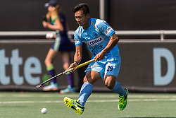 Chinglensana Kangujam of India during the Champions Trophy match between the Netherlands and India on the fields of BH&BC Breda on June 30, 2018 in Breda, the Netherlands