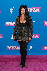 August 21, 2018 - New York City, New York, USA - 8/20/18.Jenni Farley (JWOWW) at the 2018 MTV Video Music Awards at Radio City Music Hall in New York City. (Credit Image: © Starmax/Newscom via ZUMA Press)