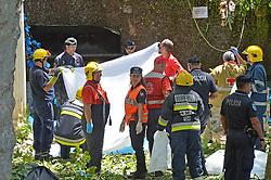 August 15, 2017 - Portugal - Funchal, 15-08-2017 - Acidente com arvore no Arraial do Monte causando várias mortes e dezenas de feridos no maior arraial e mais popular da Madeira. (Credit Image: © Atlantico Press via ZUMA Wire)