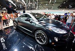 Peugeot RCZ on display at Paris Motor Show 2010