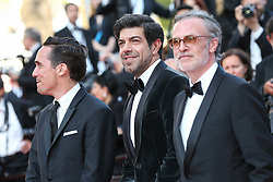 Pierfrancesco Favino, Fausto Russo Alesi attend the screening of The Traitor during the 72nd annual Cannes Film Festival on May 23, 2019 in Cannes, France. Photo by Shootpix/ABACAPRESS.COM