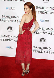 Same Kind of Different As Me Premiere at Village Theatre in Westwood, California on 10/12/17. 12 Oct 2017 Pictured: Sarah Drew. Photo credit: River / MEGA TheMegaAgency.com +1 888 505 6342