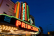 The Princess Theater was a silent film and vaudeville playhouse when it opened in 1919.  It was restored in 1941 with a brilliantly lite art deco neon marquee and purchased by the city of Decatur as a venue for the performing arts.  It is listed on the National Register of Historic Places.