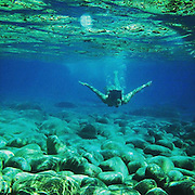 Goodbye Crete. Wonderful people, sea, food. Love you all. Thank you ! #sea #crete #greek #meer #diving #underwater #blue #light #shadow #iphone #woman