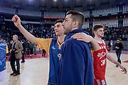 Edoardo Lucarelli Marco Santiangeli<br /> Virtus Roma - Axpo Legnano<br /> Campionato Basket LNP 2018/2019<br /> Roma 06/01/2019<br /> Foto Gennaro Masi / Ciamillo-Castoria