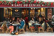 Cafe du Centre, rue Montorgueil, Paris